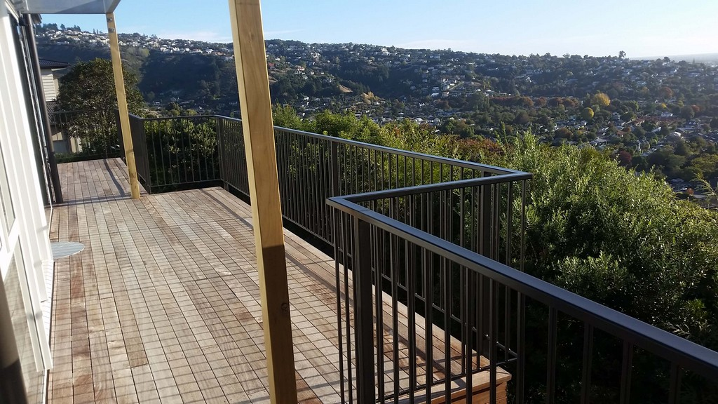 Exterior Balustrade Handrail MartyBuilt Metal Fabrication Christchurch